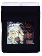 Masquerade Masked Frivolity Duvet Cover