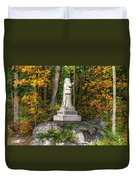 Massachusetts At Gettysburg - 37th Mass. Infantry Autumn Early-evening Sedgwick Avenue Duvet Cover