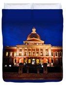 Massachusetts State House Duvet Cover by John McGraw