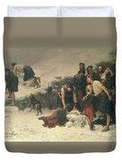 Massacre Of Glencoe, 1883-86 Duvet Cover
