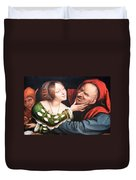 Massays' Ill Matched Lovers Or Badly Matched Lovers Duvet Cover