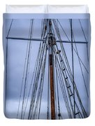 Mast And Rigging Series Number Two Duvet Cover