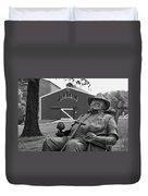 Master Distiller - D008301-bw Duvet Cover