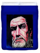 Master Of The Macabre-vincent Price  Duvet Cover
