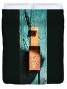 Match Box Duvet Cover