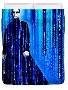 Matrix Neo Keanu Reeves 2 Duvet Cover