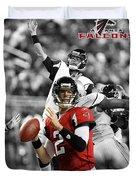 Matt Ryan Falcons Duvet Cover