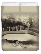 Matterhorn Bobsled Fantasyland Disneyland Heirloom Duvet Cover