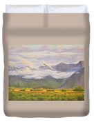 Matukituki Valley Duvet Cover