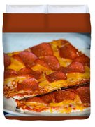 Matza Pizza Duvet Cover