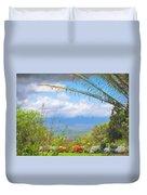 Maui Botanical Garden Duvet Cover