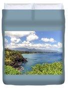 Maui Coast Duvet Cover