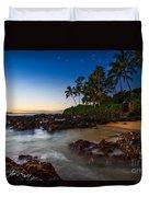 Maui Cove - Beautiful And Secluded Secret Beach. Duvet Cover
