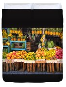 Maui Fruits And Vegetables Duvet Cover