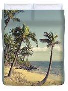 Maui Lu Beach Hawaii Duvet Cover