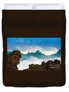 Maui Monster Duvet Cover