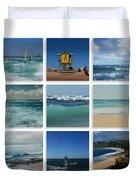 Maui North Shore Hawaii Duvet Cover