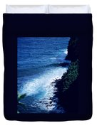 Maui Shoreline On The Way To Hana Duvet Cover by J D Owen