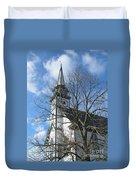 Mauricetown Church  Duvet Cover