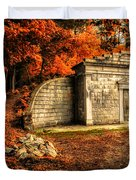Mausoleum Duvet Cover by Bob Orsillo