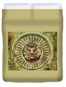 Mausoleum Lion Duvet Cover