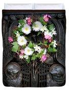 Mausoleum Mosaic Duvet Cover