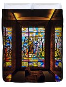 Mausoleum Stained Glass 01 Duvet Cover