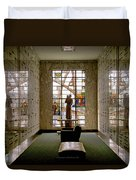Mausoleum Stained Glass 04 Duvet Cover