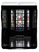 Mausoleum Stained Glass 05 Duvet Cover