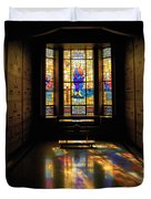Mausoleum Stained Glass 06 Duvet Cover