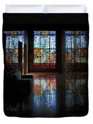 Mausoleum Stained Glass 08 Duvet Cover