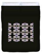 Mauve Beauty Pattern Duvet Cover