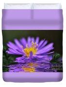 Mauve Softness And Reflections Duvet Cover
