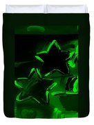 Max Two Stars In Green Duvet Cover