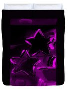 Max Two Stars In Purple Duvet Cover