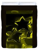 Max Two Stars In Yellow Duvet Cover