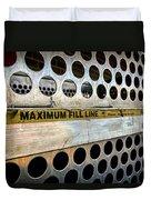 Maximum Fill Duvet Cover