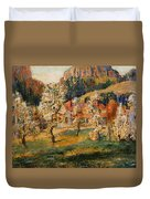 May In The Mountains Duvet Cover