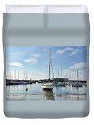 May Morning - Lyme Regis 2 Duvet Cover