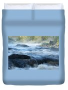 May Morning On The Pawcatuck Duvet Cover