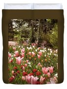 May Tulips Duvet Cover