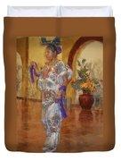 Maya Woman-mexico V2 Duvet Cover