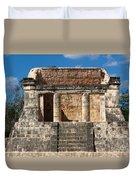 Mayan Palace Duvet Cover