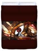 Mayan Reptile Duvet Cover