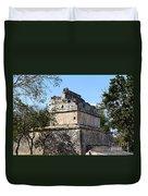 Mayan Ruin At Chichen Itza Duvet Cover