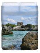 Mayan Ruin Duvet Cover
