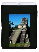 Mayan Ruins - Tikal Guatemala Duvet Cover