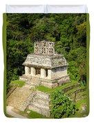 Mayan Temple Duvet Cover