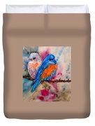 Maybe She's A Bluebird Cropped Duvet Cover