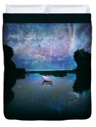 Maybe Stars Duvet Cover by Stelios Kleanthous